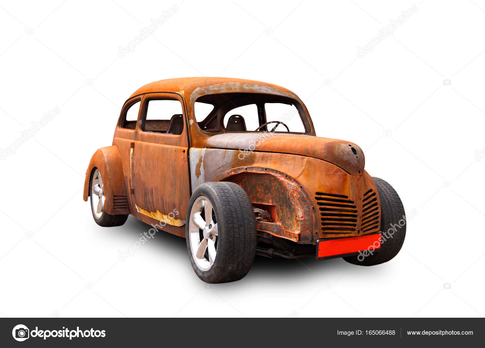 Rat-Look Style Car — Stock Photo © OlegMirabo #165066488