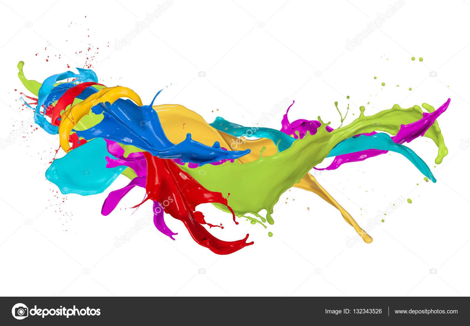 salpicadura de pintura fondo - photo #37