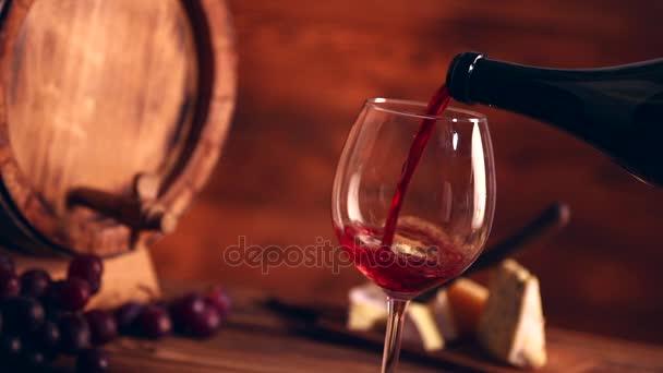 vörös bor, öntés