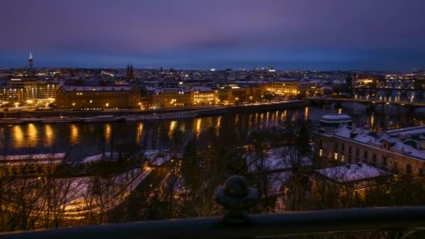 Prague city časová prodleva