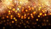 Oslavu pozadí s ohňostroje výbuchů