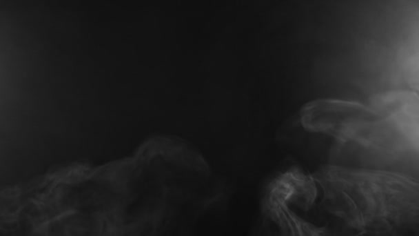 A fehér füst lassú mozgása