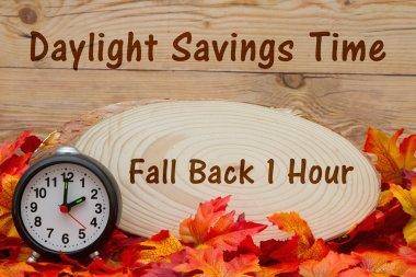 Daylight savings time message