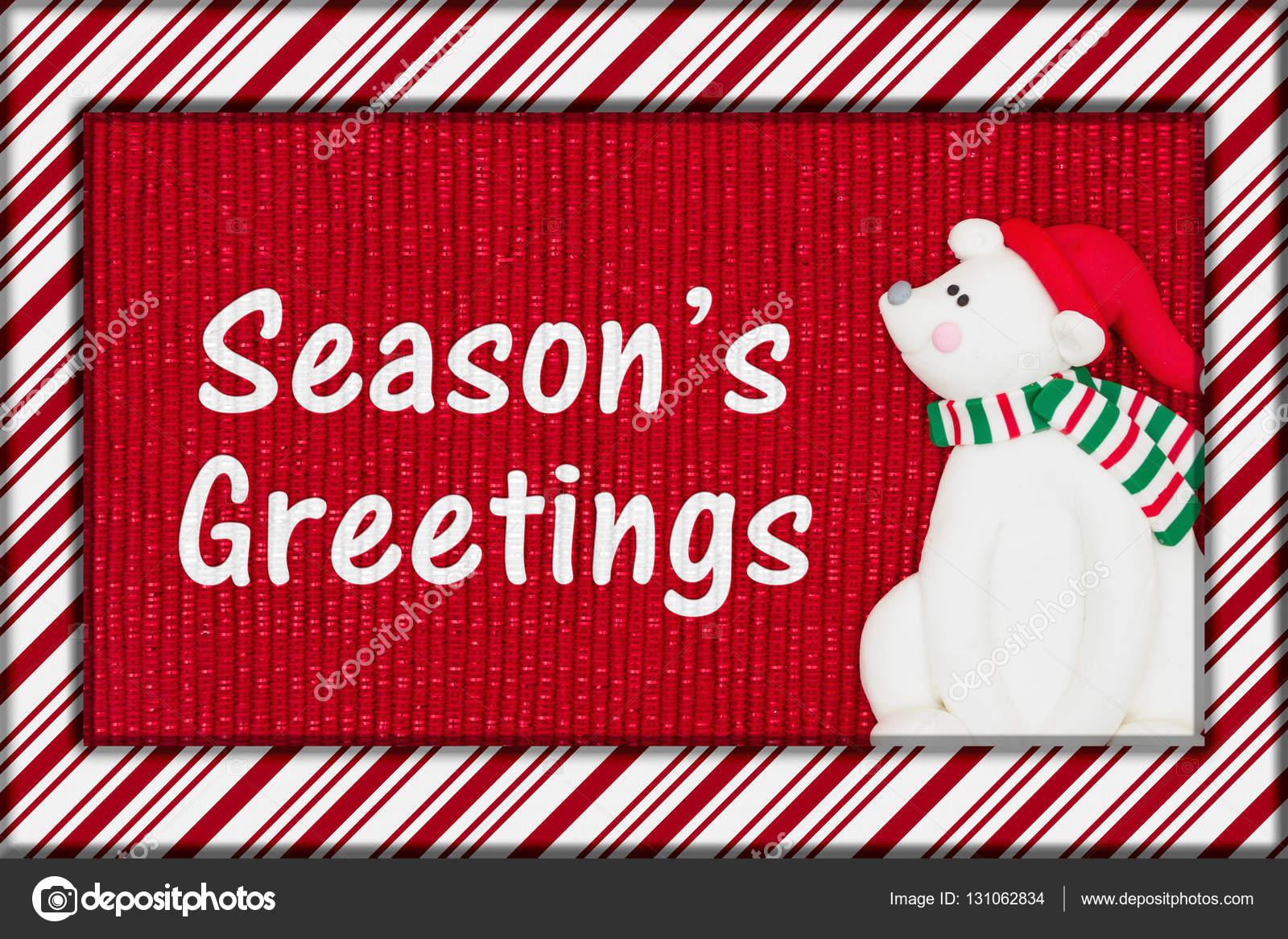 Christmas Seasons Greeting Stock Photo Karenr 131062834