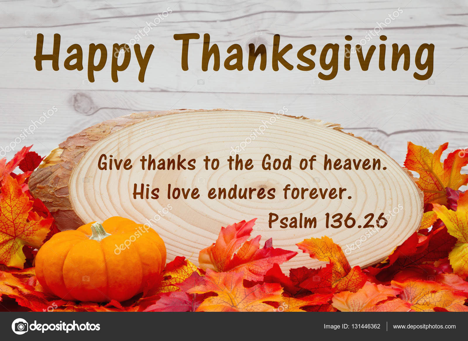happy thanksgiving message stock photo karenr 131446362