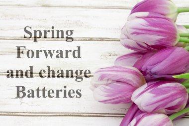 Spring Forward message