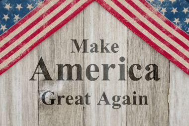 Making America great again message