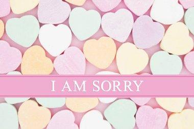 Retro apology message