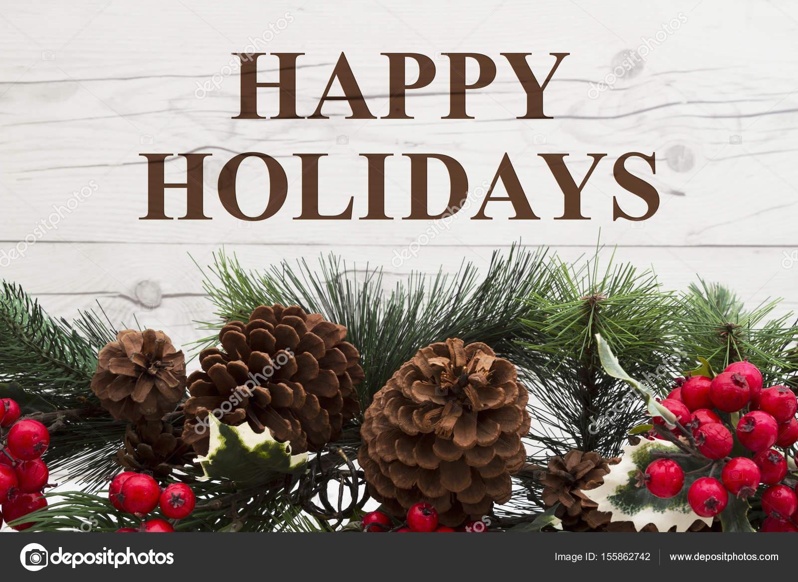 Old fashion Christmas greeting — Stock Photo © karenr #155862742