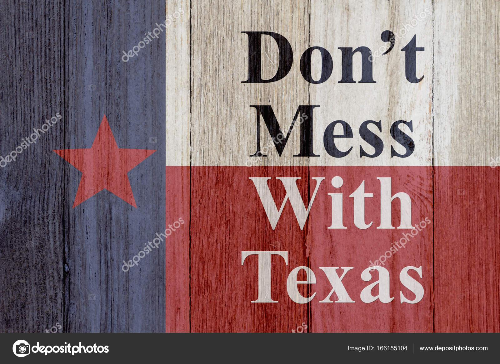 Eine rustikale alte Texas Nachricht — Stockfoto © karenr #166155104