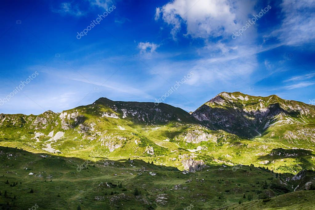 Beautyfull Mountain landscape in Bagolino