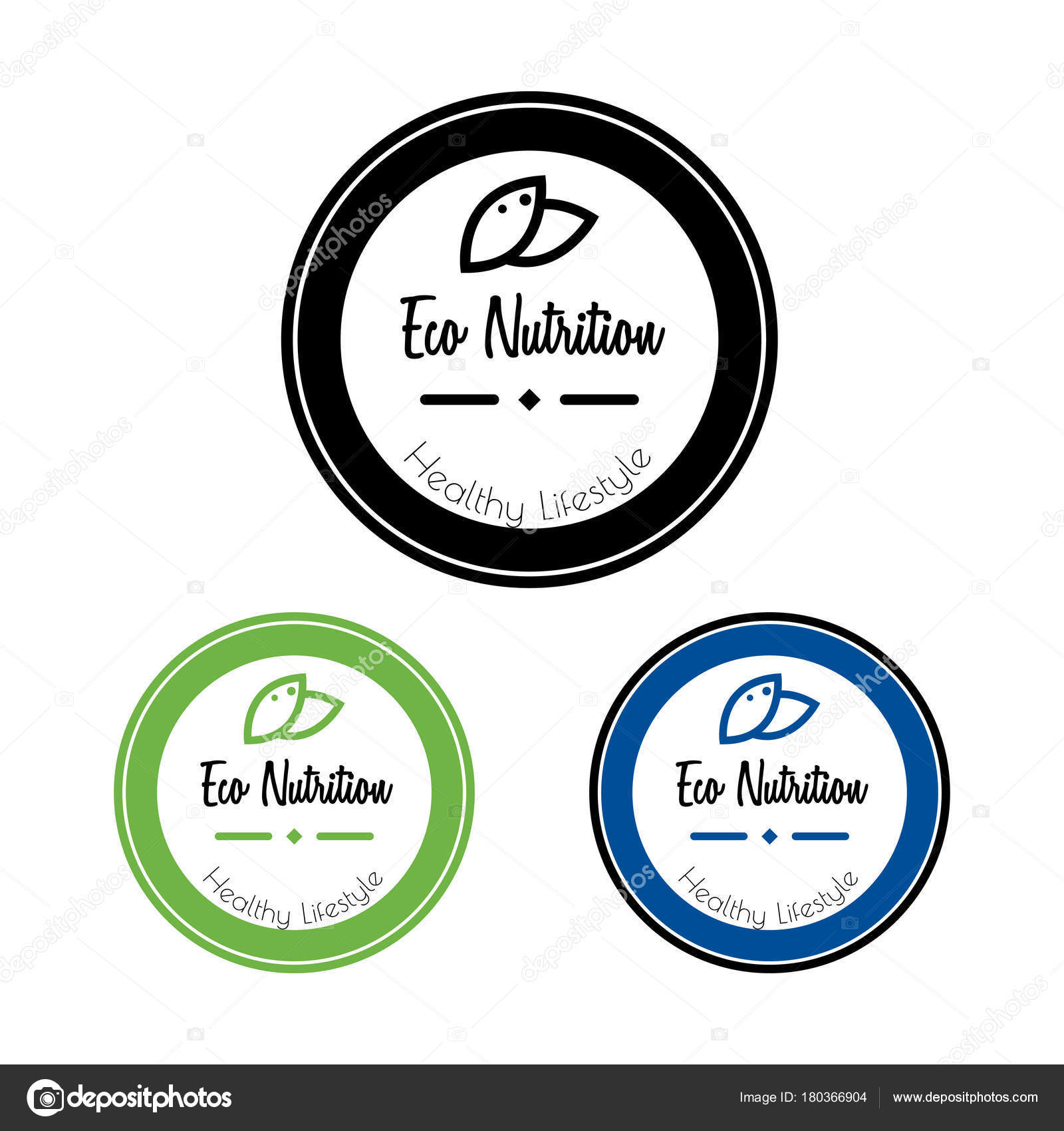 eco package label vector sticker organic natural nutrition symbol
