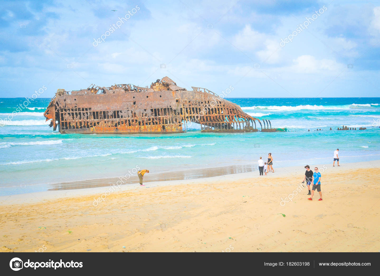 Shipwreck In Cape Verde Stock Editorial Photo C Lucianmilasan