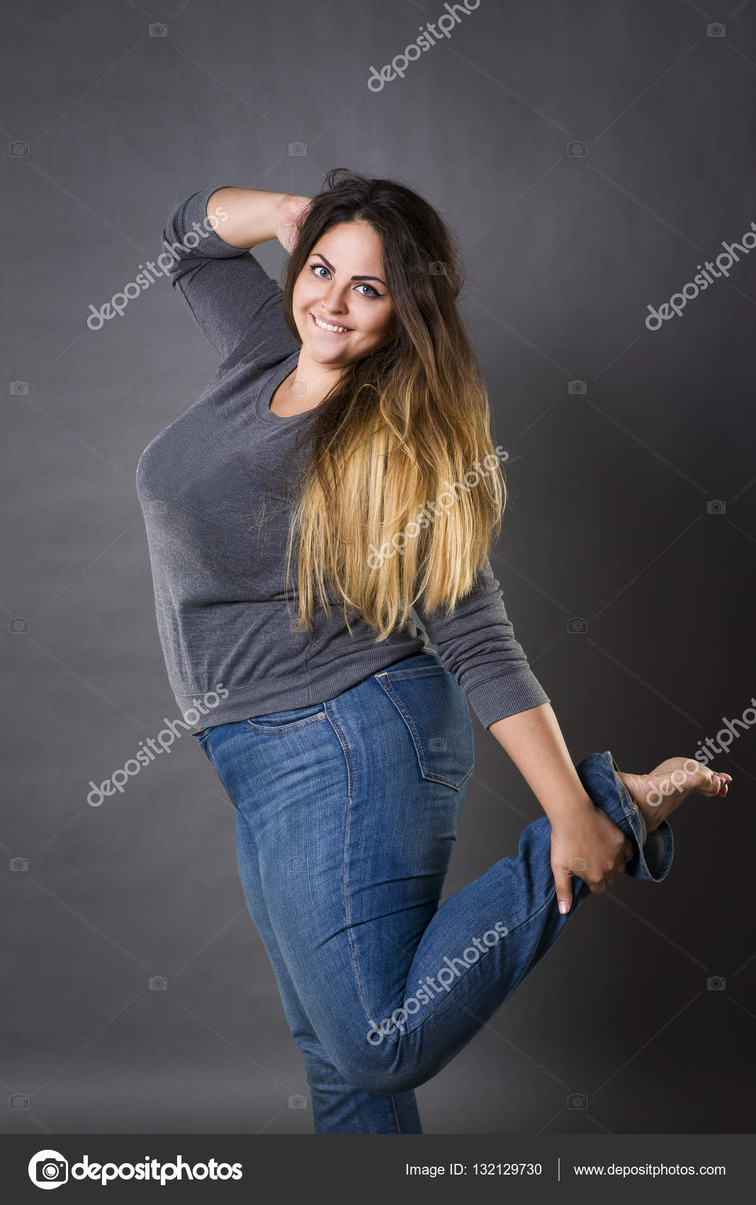 Beautiful Plus Size Model