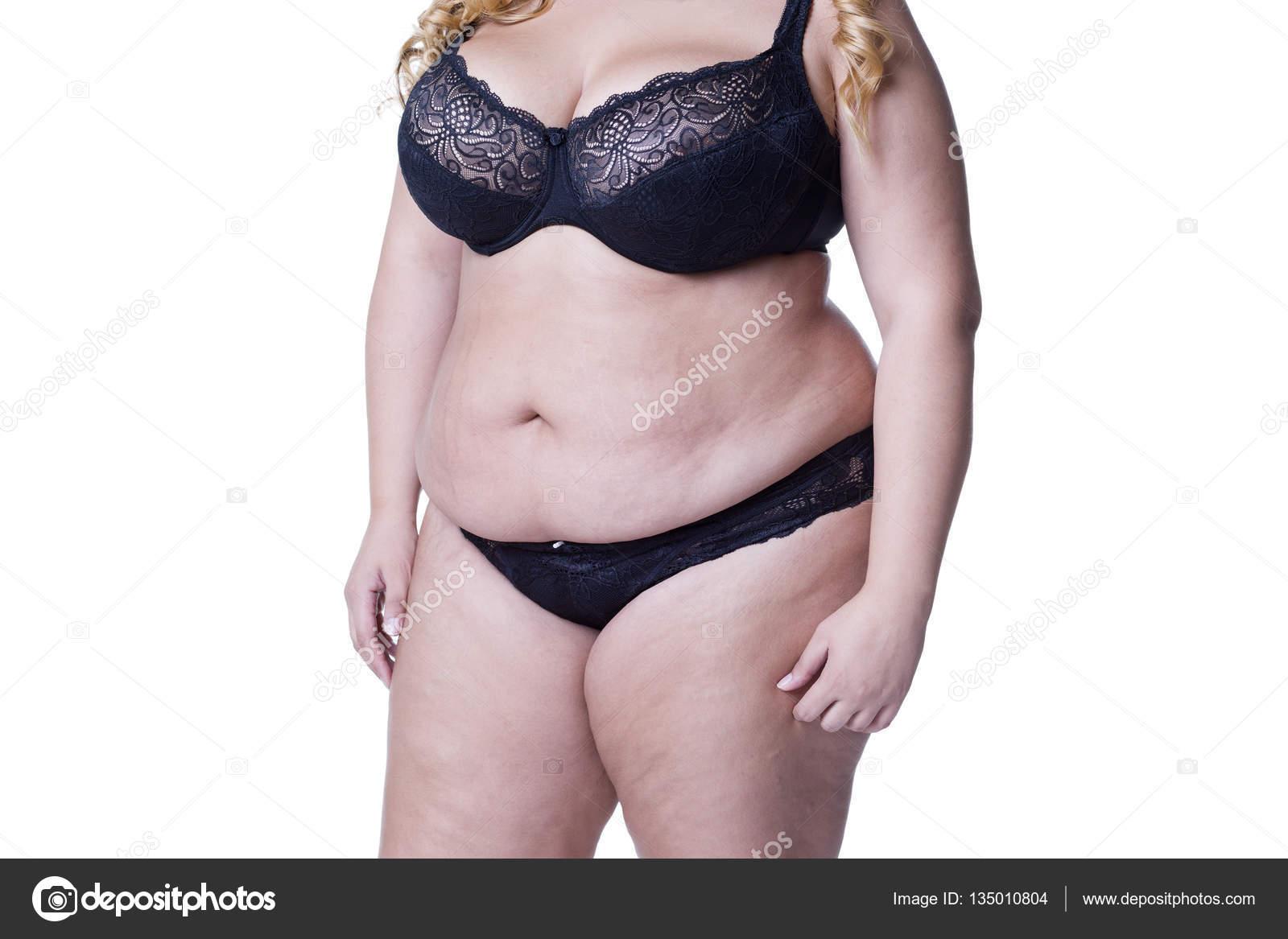 sexy dicke Mädchen in Dessous