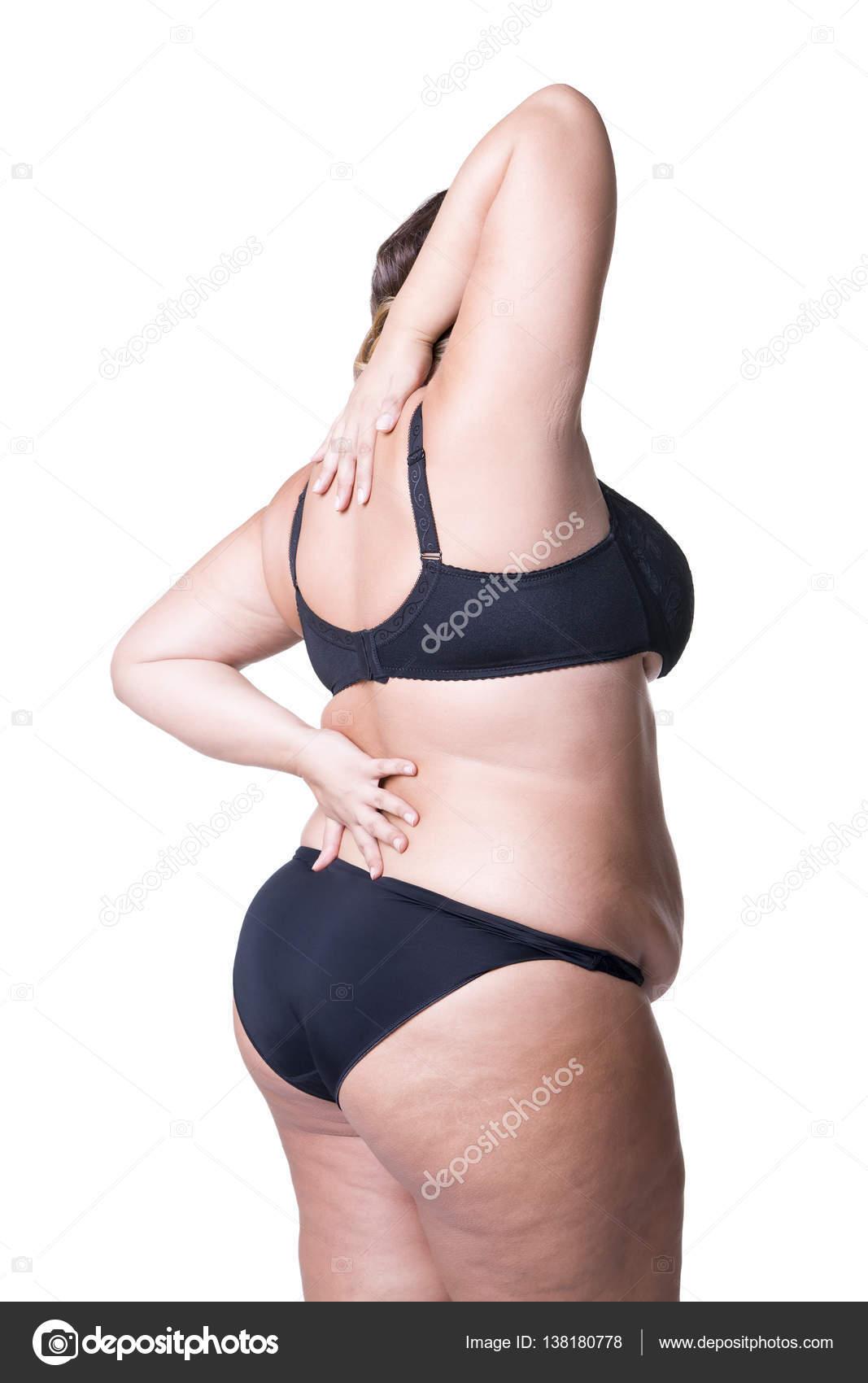 c50ebbffd Mais um modelo de tamanho em lingerie preta