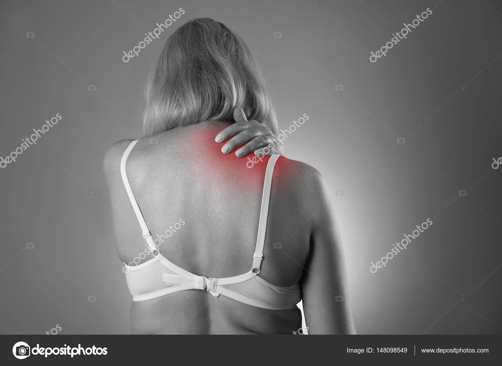 corpo di dolore femminile