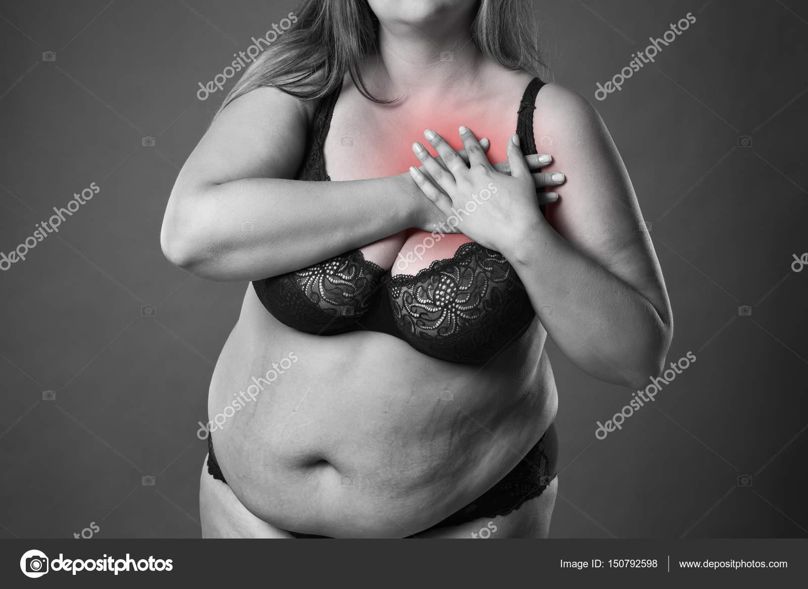 zwaarlijvige Zwarte lesbische