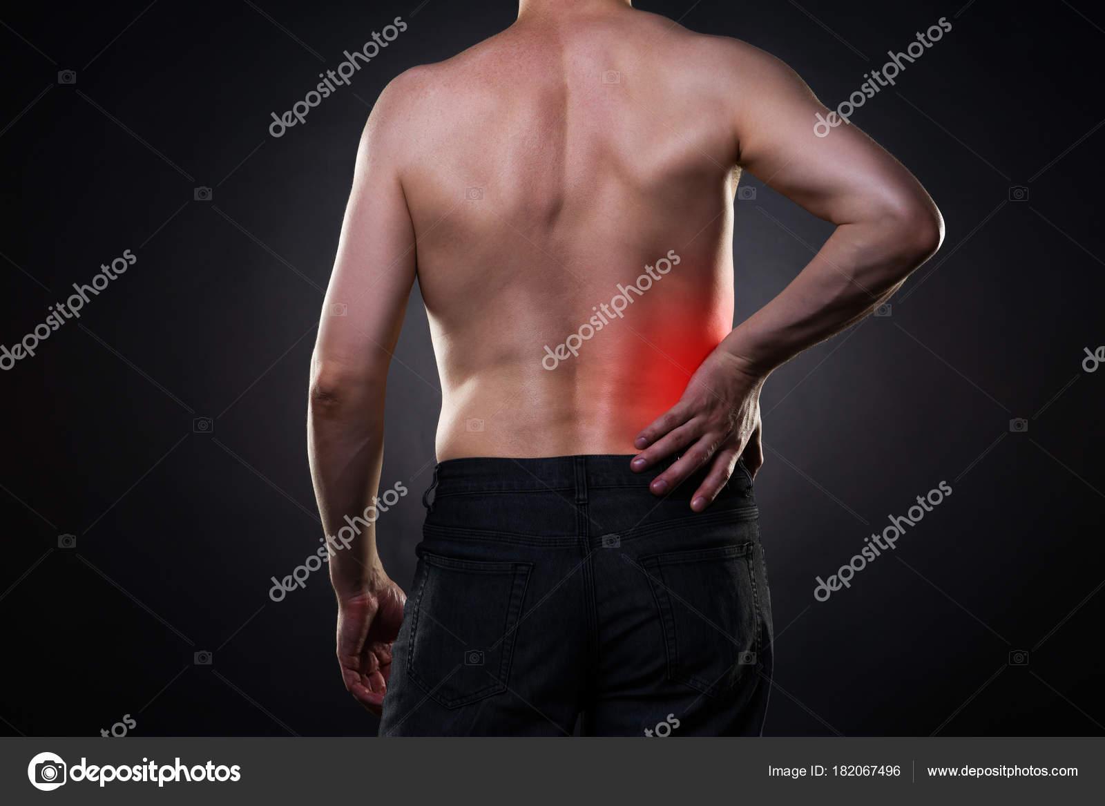 Dolor de espalda, inflamación del riñón, dolor en el cuerpo del ...