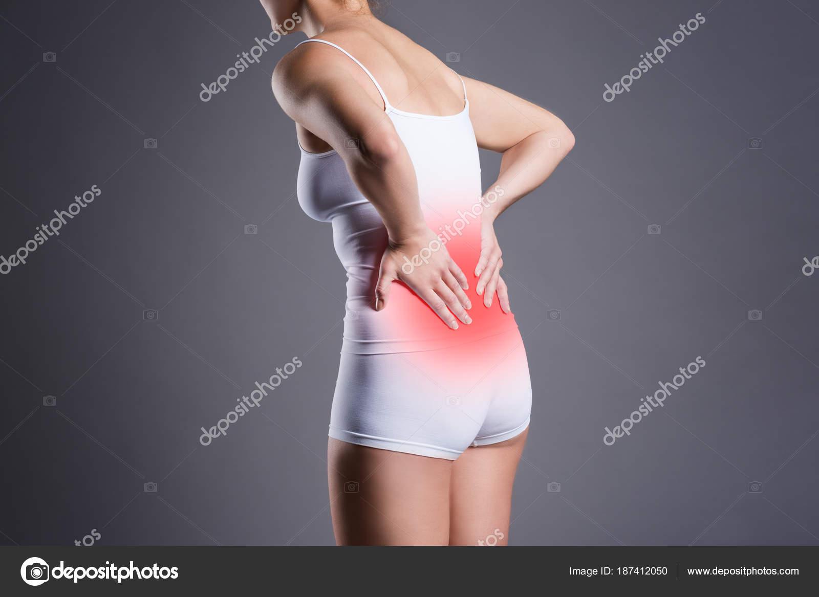 Dolor de espalda, inflamación del riñón, dolor en el cuerpo de la ...