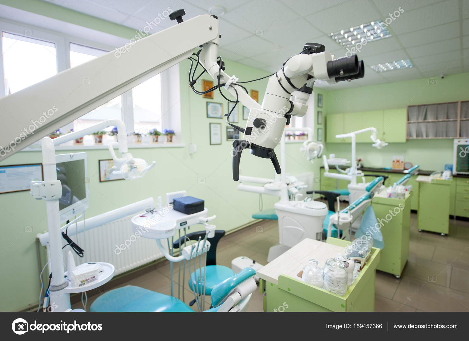 Modern dental office — Stock Photo © anatoliy_gleb #159457366