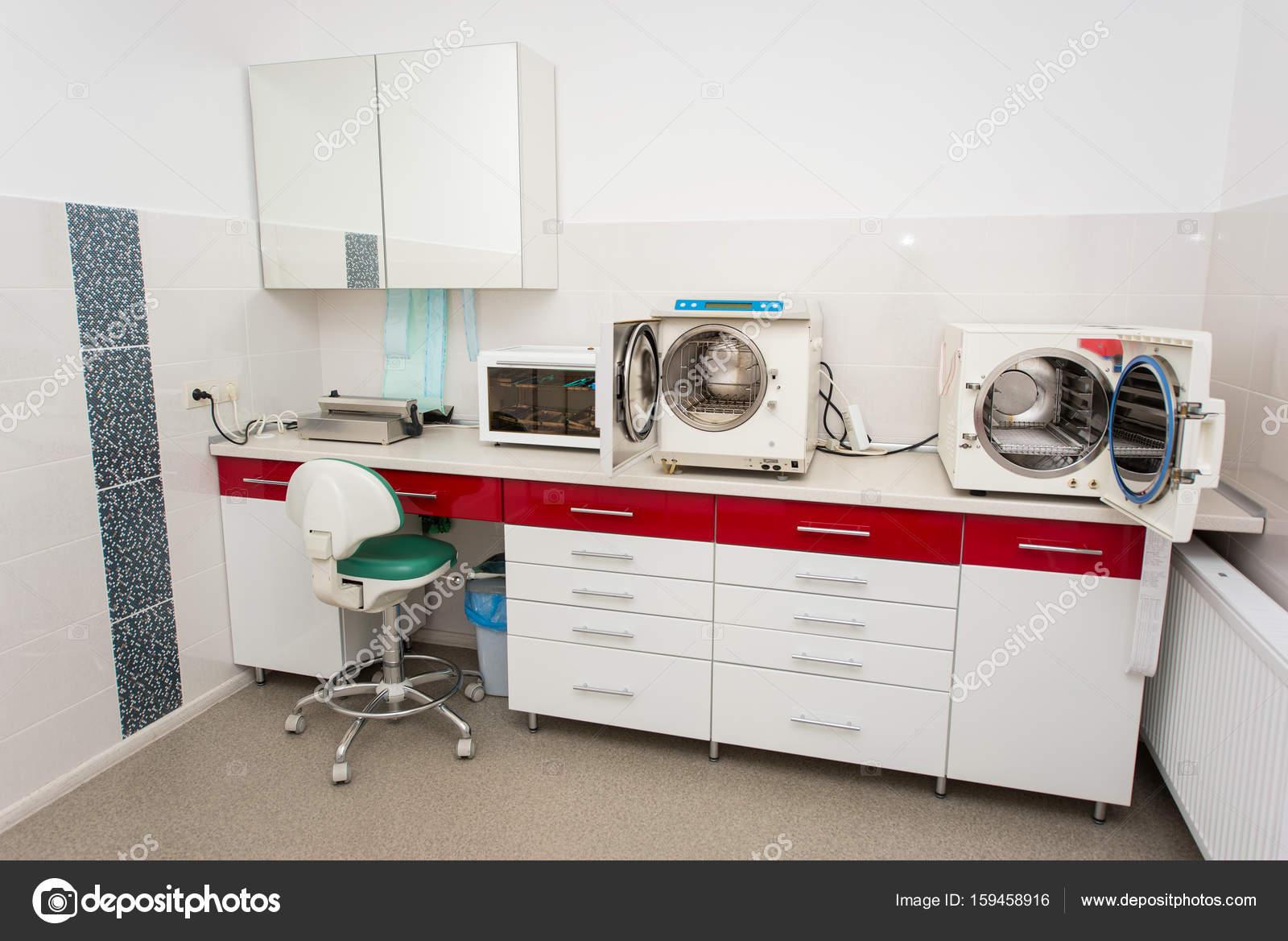 Cuarto Lugar De La Esterilizaci N En Odontolog A Foto De Stock  # Muebles Dentales Selecto