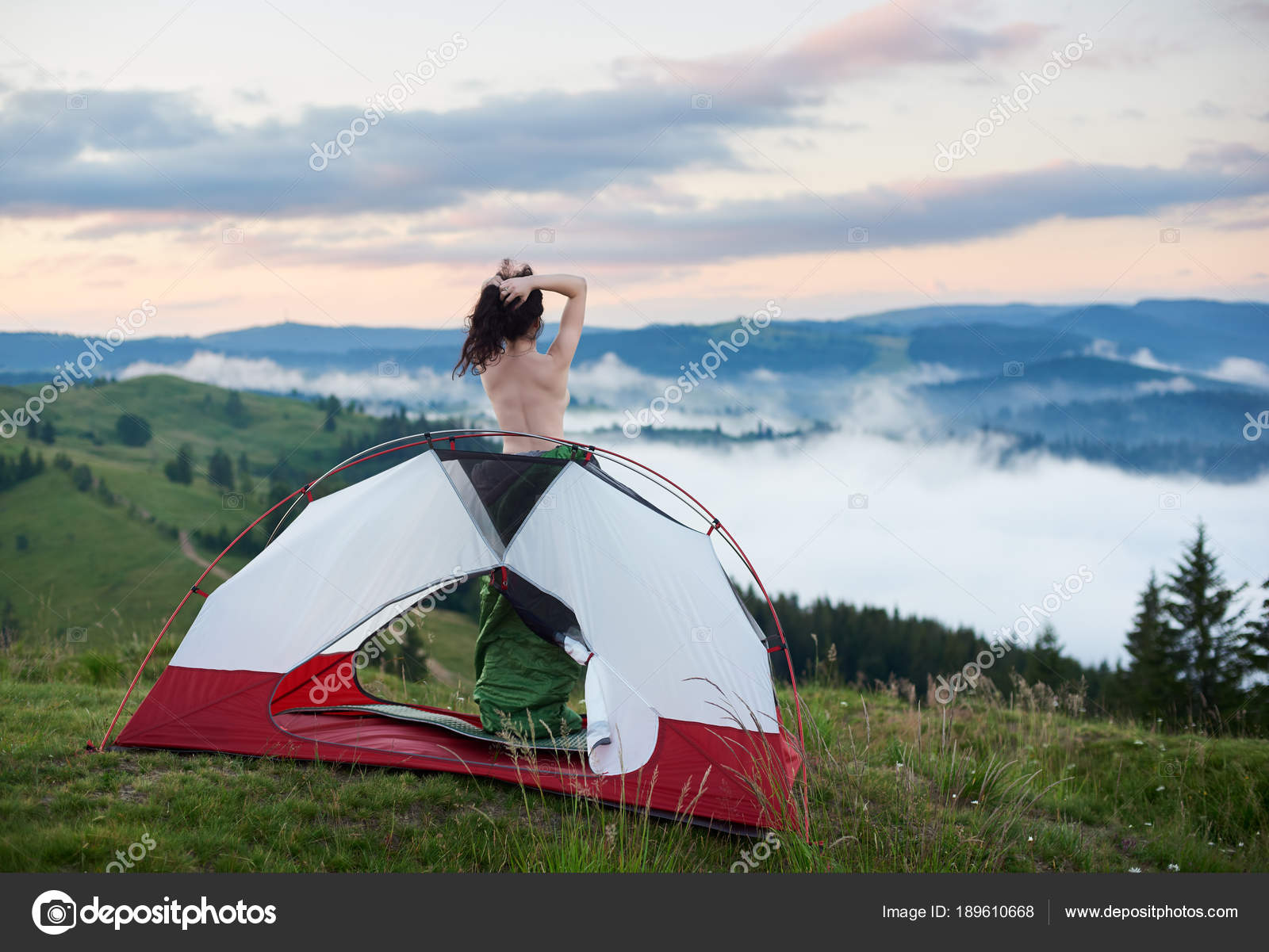 Naked Mountain Climbing Stock Photos, Pictures & Royalty