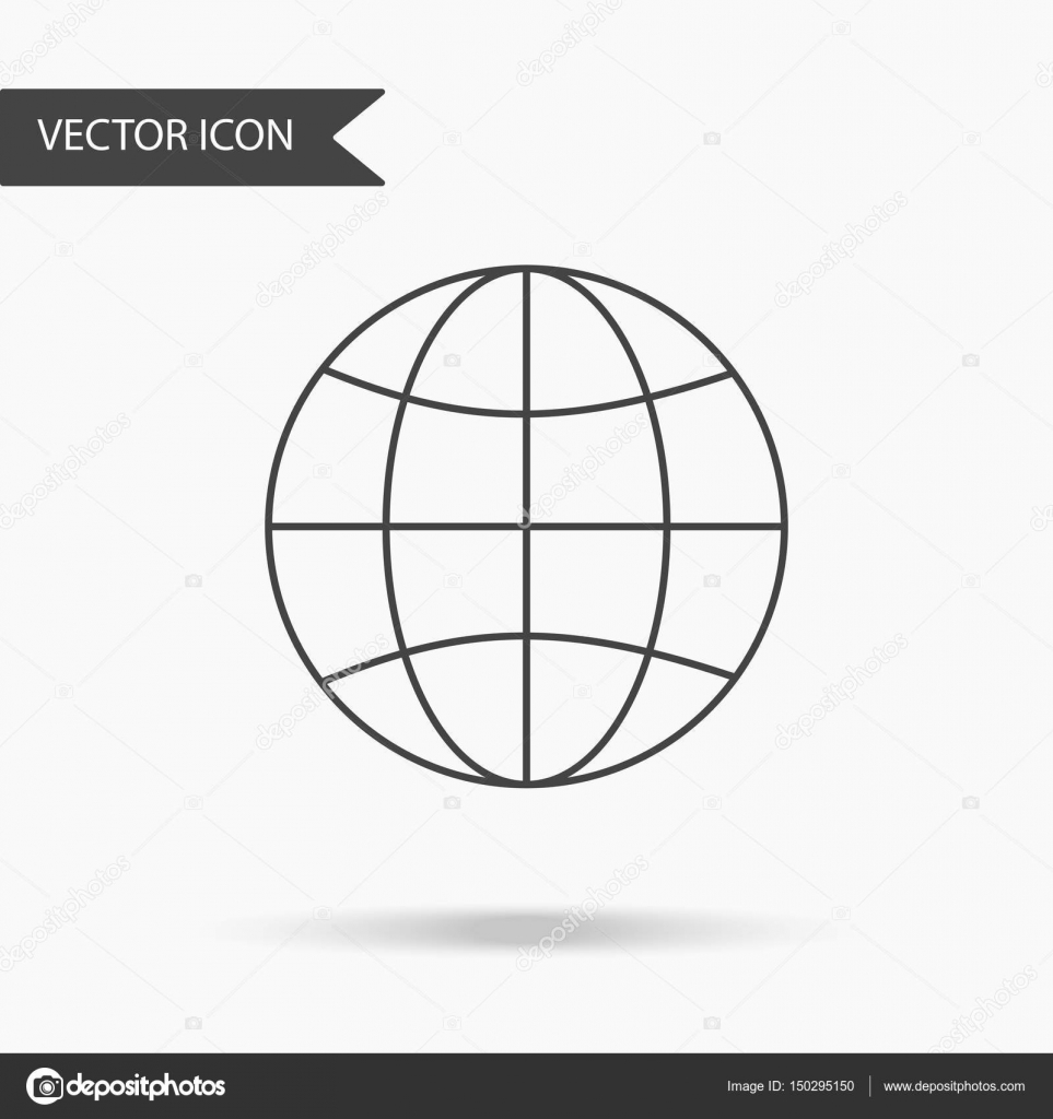 Vector business icon globe icon for for annual reports charts vector business icon globe icon for for annual reports charts presentations workflow layout banner number options step up options web design ccuart Image collections