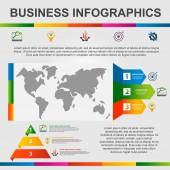 Fotografie moderne Vektorillustration 3d. Multifunktionale Vorlagen-Infografiken mit verschiedenen Diagrammen, Sektoren und Diagrammen. entworfen für Business, Präsentationen, Webdesign, Bildung.