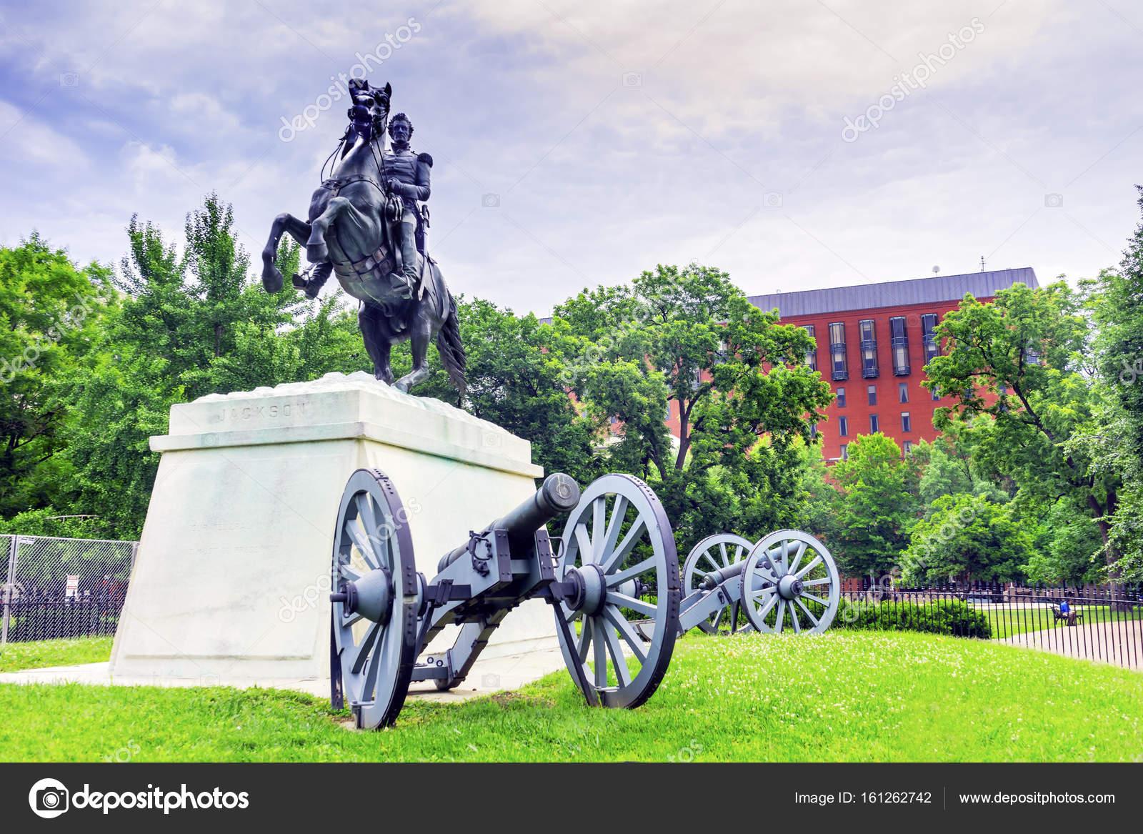Circuito Jackson : Estatua de jackson parque lafayette tribunal de apelaciones para