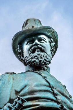 General James Mcpherson Civil War Memorial Mcpherson Square Washington DC