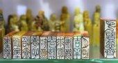 Kínai kő pecsétek kézzel bélyegek ajándéktárgyak Peking Kína