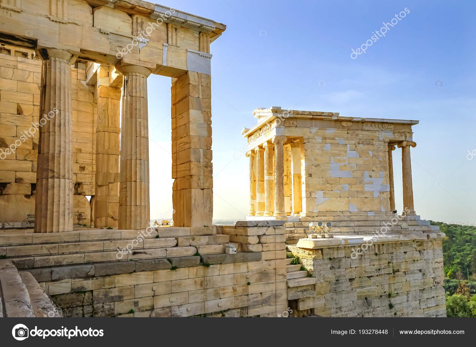 quality design 41007 be258 ... Propileos antigua entrada Gateway ruinas Acrópolis Atenas Grecia  construcción terminó en 432 a. C. templo construido 420 Bc. Nike en griego  significa ...