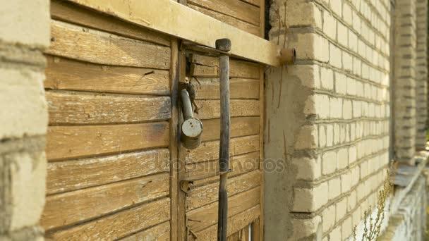 Padlock on the Door