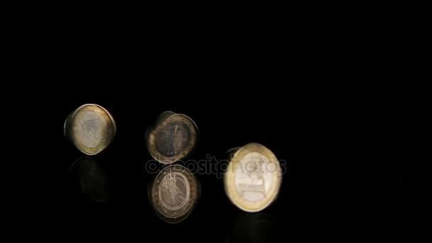 Three coins rotation