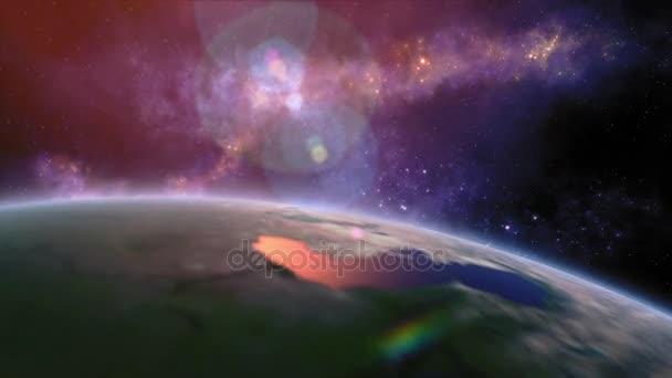Planet Earth titul - země z vesmíru všechno, co ukazuje krásy