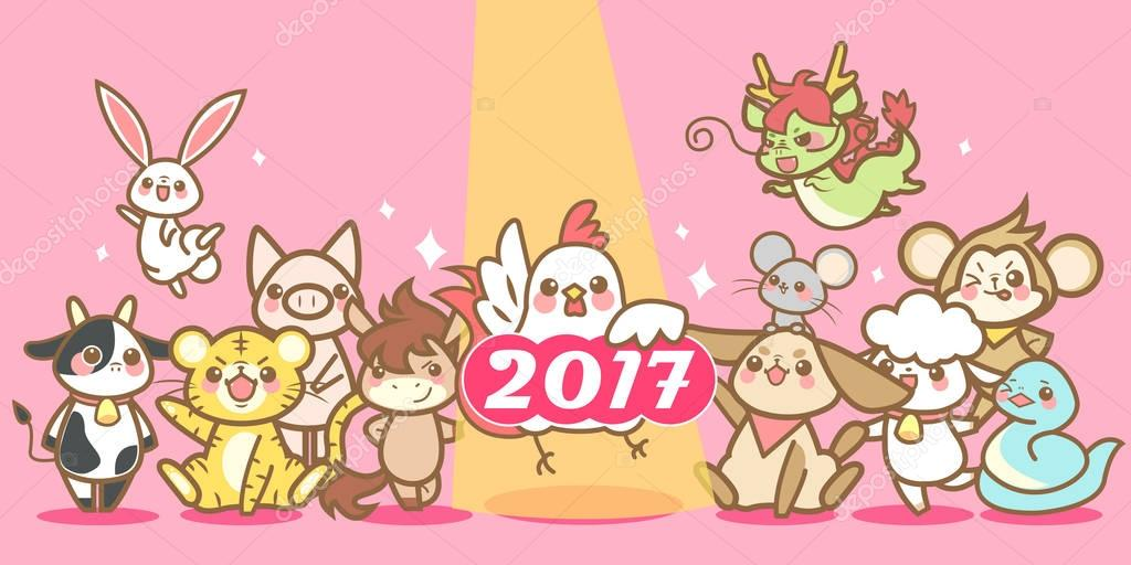 zodiac and chinese new year
