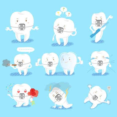 tooth do different emotions