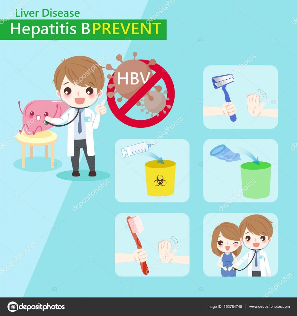 prevenir la hepatitis b vector de stock estherqueen999 153784748. Black Bedroom Furniture Sets. Home Design Ideas