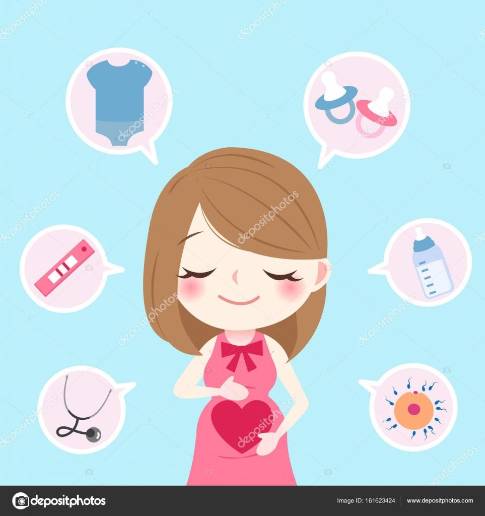 Imágenes Animadas De Embarazadas Con Frases Bonitas