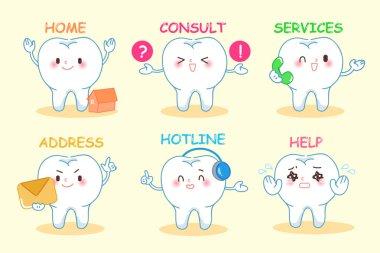 set of dental web design
