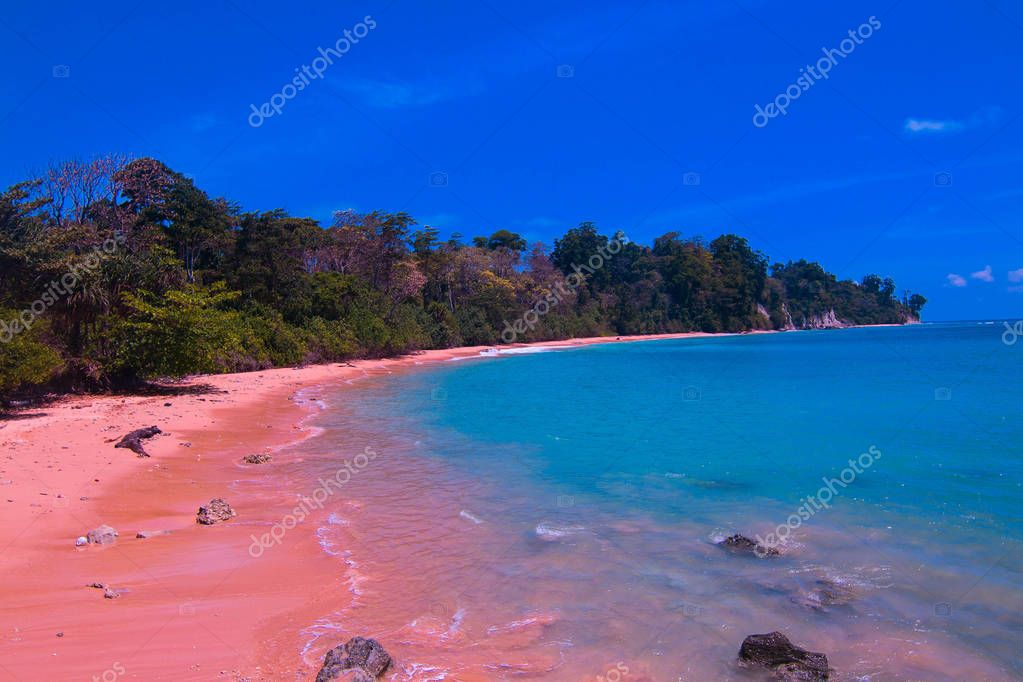 sitapur beach at andaman islands