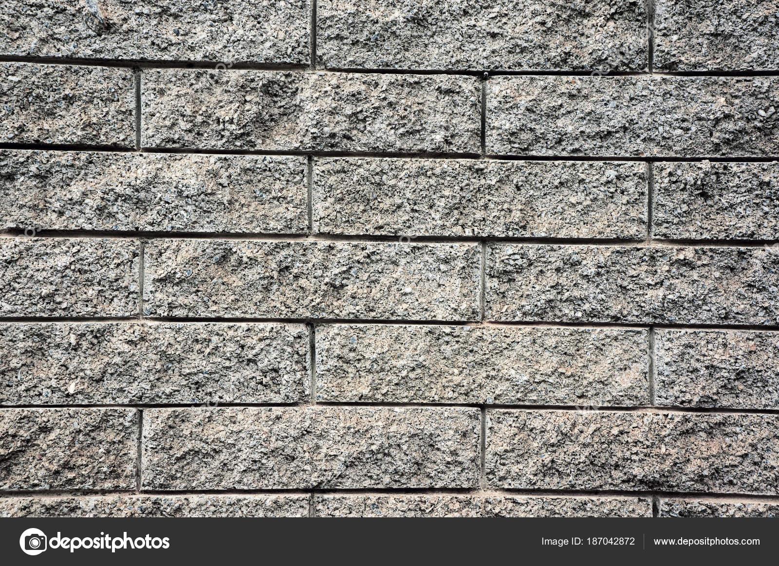 Gris textura exterior ladrillos hormig n foto de stock - Ladrillos de hormigon ...