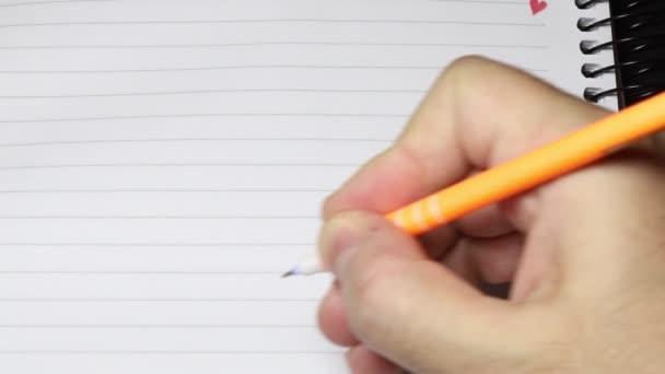 írás notebook toll kéz szerelem vonalak üzenet
