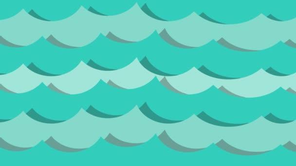voda oceán pohyb modrý tvar průtok
