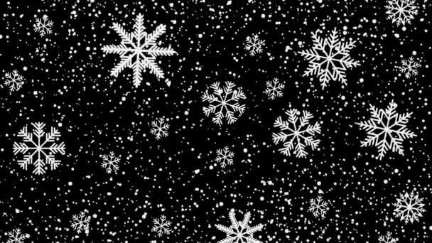 hó alá fekete éjszakai mozgás illusztráció
