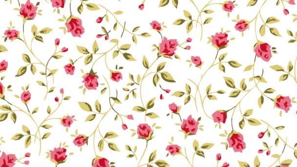 rózsa virágok alá virágzás mozgás illusztráció