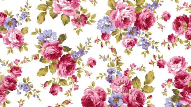 růže růžové květy pádu květ pohybu ilustrace