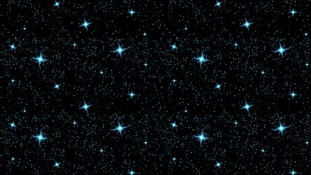 hvězda lesklý vesmír černá ilustrace