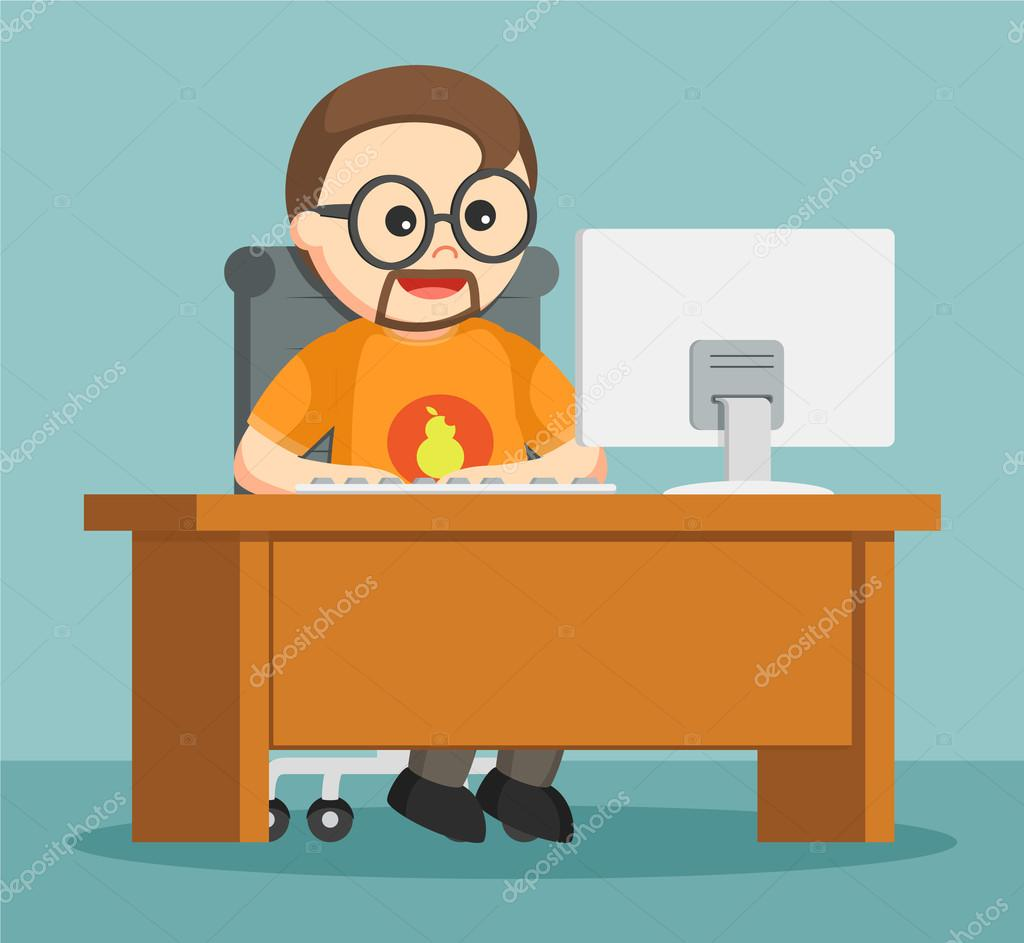 Royalty Free Stock Illustrations of Computers by Ron